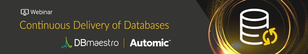 Continuous Delivery for Databases - Webinar with Automic