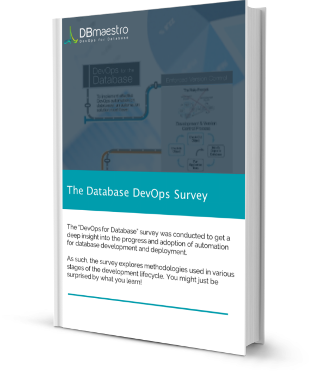 DevOps for the Database 2015 – A DBmaestro Survey.png