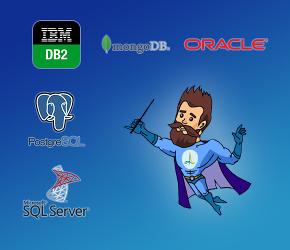 Databases supported by DBmaestro