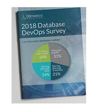 devops for database 2018 survey report